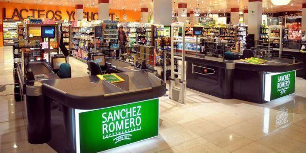Trabaja en los supermercados Sánchez Romero