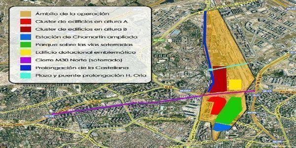 La operación Chamartín creará 122.000 puestos de trabajo