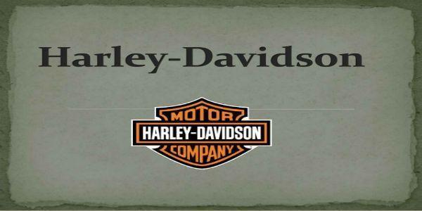 Se busca motorista en Harley Davidson