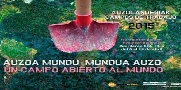 Inscríbete en el programa Auzolandegiak 2015