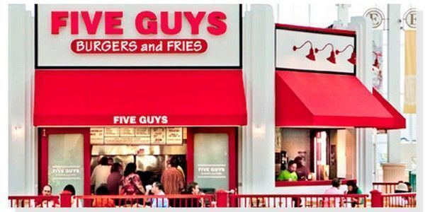 Five Guys hamburgueserias