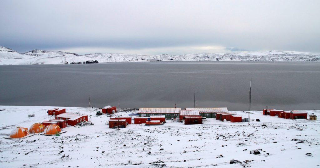 estaciones investigación en la Antártida
