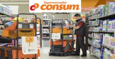 empleo supermercados consum