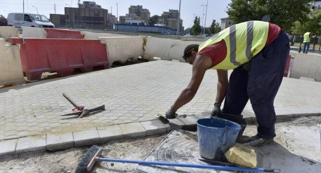 empleo trabajador construccion