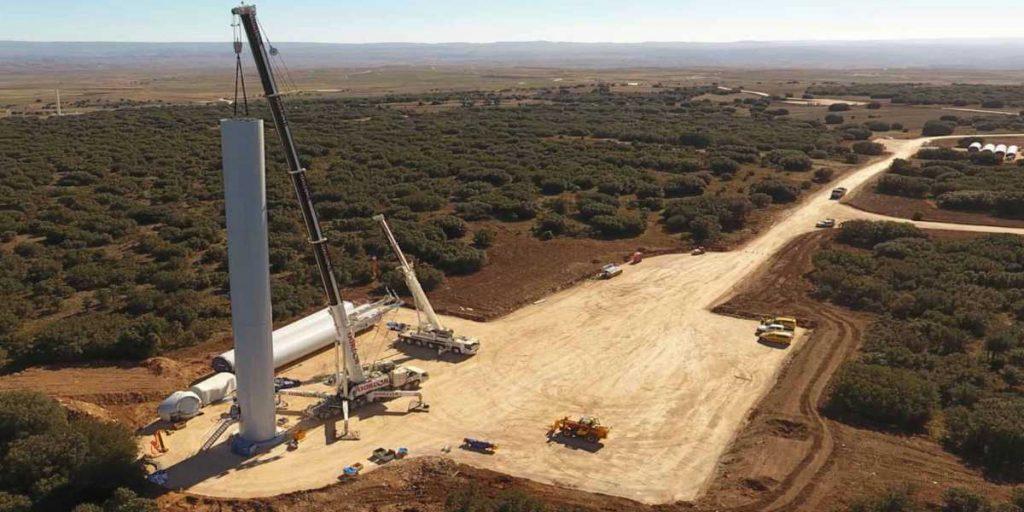 trabajo energia eolica